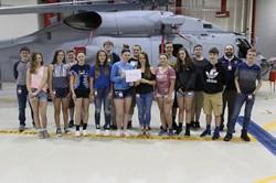 8th grade students visit Lockheed Martin