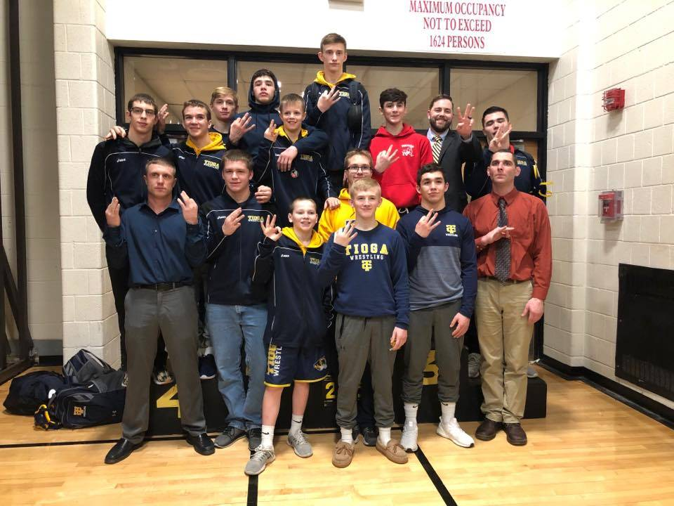 Wrestling 2019 Sectional Champs